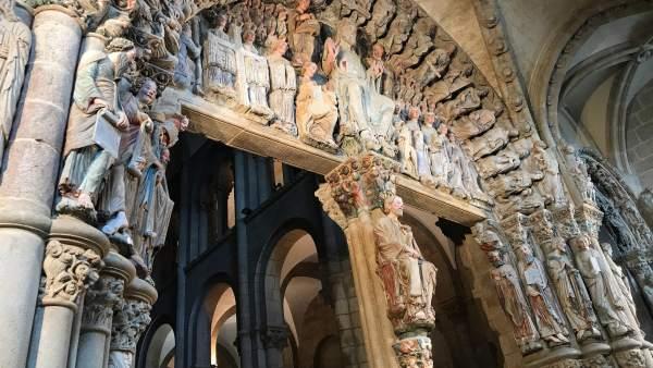 Portico de la Gloria de la Catedral de Santiago de Compostela