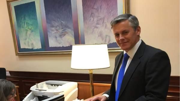 El diputado de Cs en el Congreso, Javier Cano