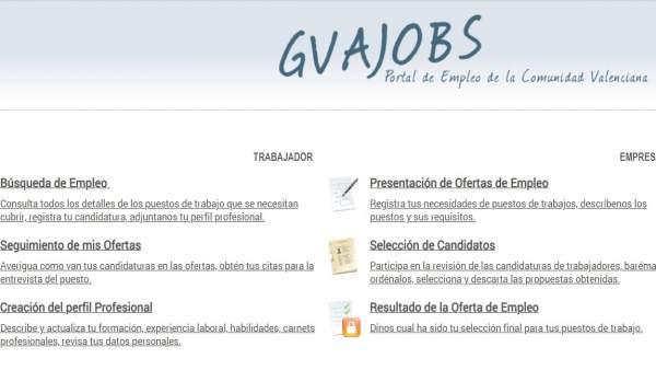 Portal GVAJobs