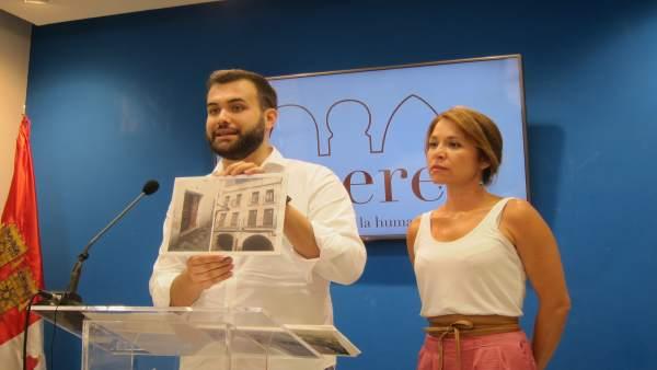 Luis Salaya denuncia el abandono y el deterioro de la ciudad