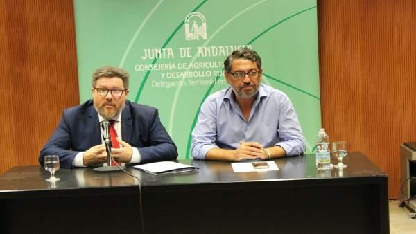 Consejero de Agricultura, Rodrigo Sánchez Haro