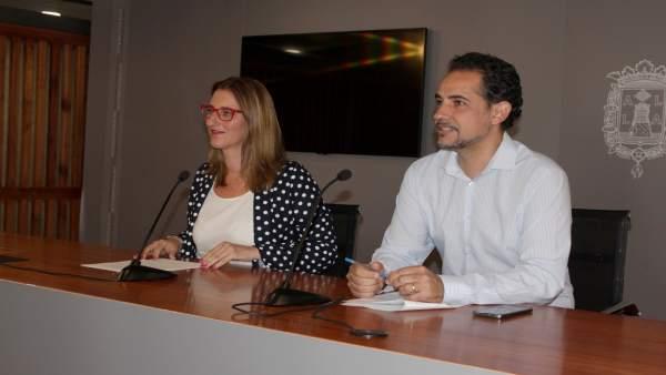 Mª Carmen de España en la Junta de Gobierno Local