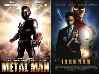 2008: 'Metal Man' y 'Iron Man'