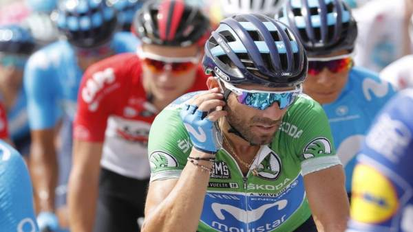 Alejandro Valverde en La Vuelta