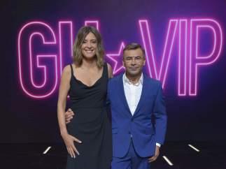 Sandra Barneda y Jorge Javier Vázquez, en 'Gran Hermano VIP'
