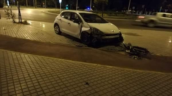 Vehículo dañado
