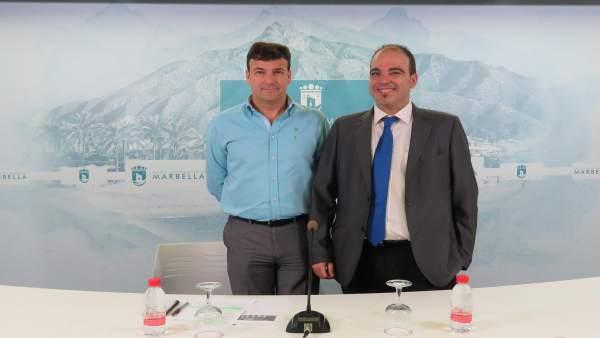 Garre, edil de Marbella, informa sobre cursos
