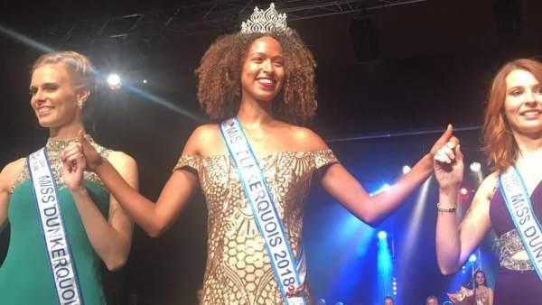 Annabelle Varane es coronada Miss Dunkerque.