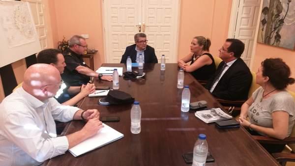 Reunión para la seguridad