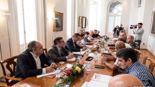 Reunión Junta Gobierno Ayuntamiento de Cartagena