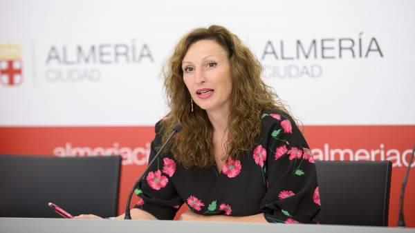 La portavoz del equipo de gobierno municipal, María Vázquez