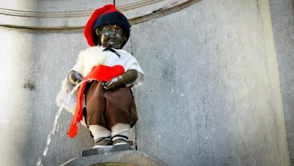 Manneken Pis 'catalán'