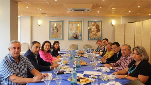 Reunión del Foro de Turismo de Málaga septiembre de 2018