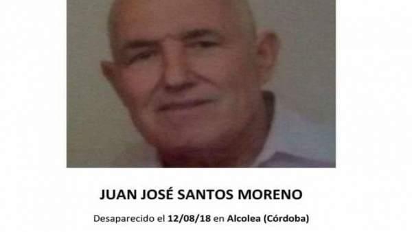 Juan José Santos Moreno, desaparecido en Córdoba