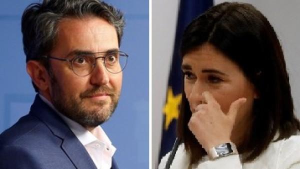 Carmen Monton y Maxim Huerta