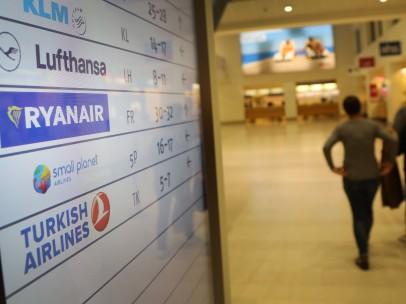 Huelga de los empleados de Ryanair en Alemania