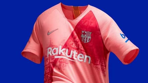f6602c7d2a El Barça presenta su llamativa tercera camiseta