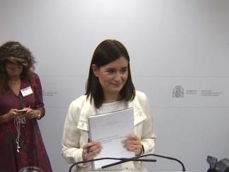 Carmen Montón enseña su TFM