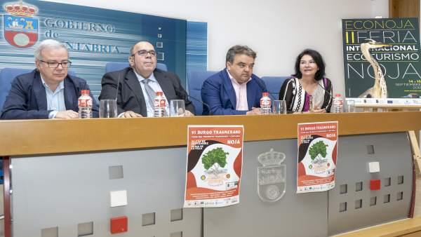 Presentación II Feria Econoja y VI Burgo Transmerano
