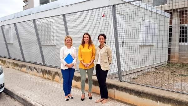 Margalida Prohens, Núria Riera y Lourdes Bosch
