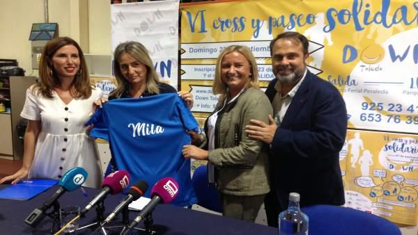Presentación VI Cross y Paseo Solidario Down Toledo 2018