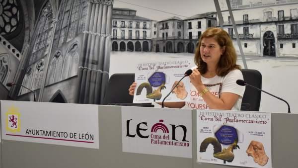 La concejal de Cultura, Margarita Torres.