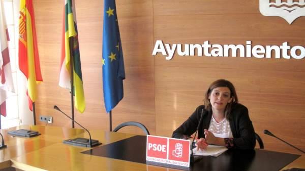La concejala del PSOE María Marrodán