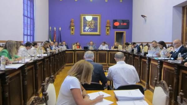Pleno en el Ayuntamiento de Jaén