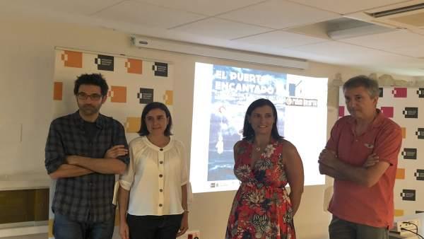 Presentación festival de vídeo mapping 'El Puerto Encantado'