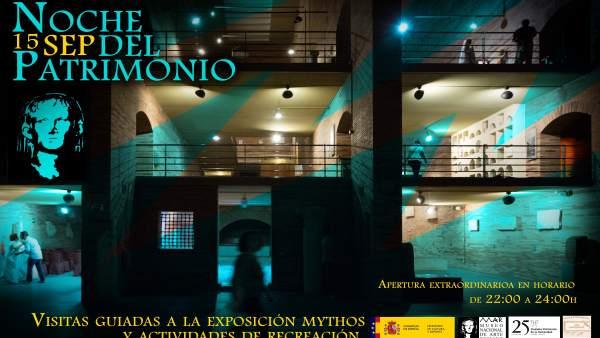 Cartel Noche del Patrimonio en Mérida