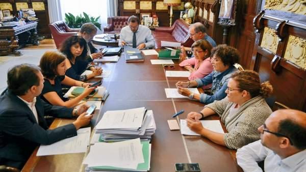 Reunión de la Junta de Gobierno del Ayuntamiento de Valladolid. 12-9-18