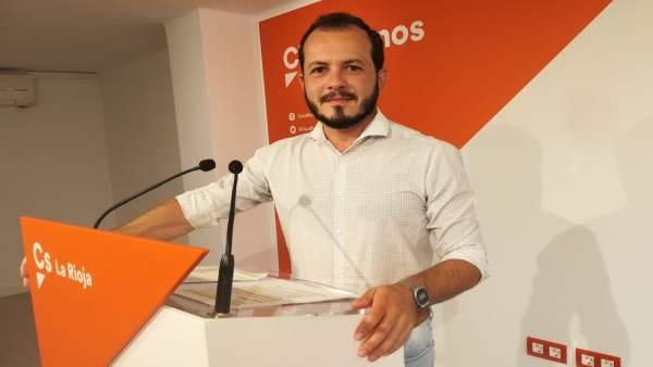 Pablo Baena portavoz autonómico de Cs La Rioja
