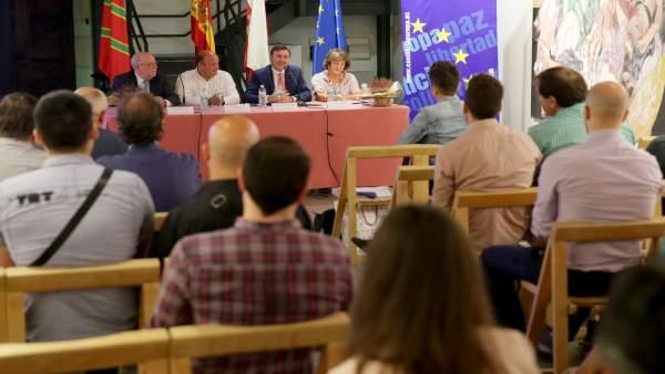 Sota y Mañanes inauguran las Jornadas sobre Patrimonio Europeo en Cantabria