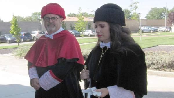 Rey con Rodríguez Escanciano