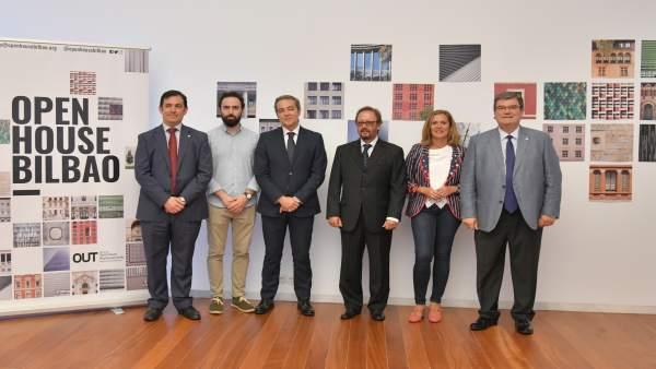 Presentación de la segunda edición de Open House Bilbao