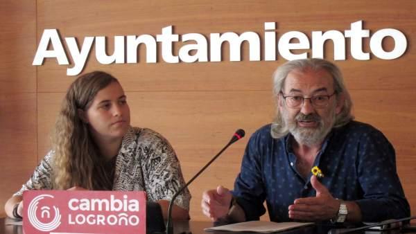 Zúñiga y Blanco, en la rueda de prensa