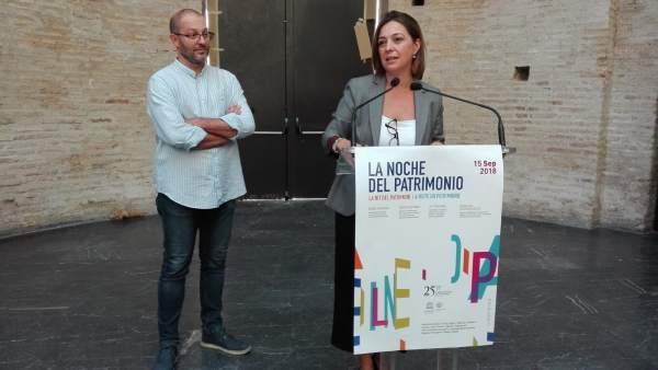 Isabel Ambrosio con David Luque