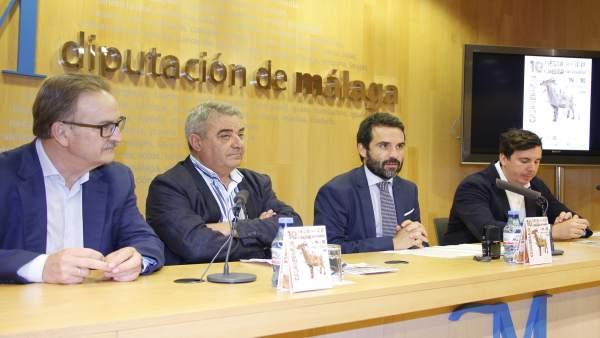 Presentación Fiesta de la Cabra de Casabermeja en Diputación