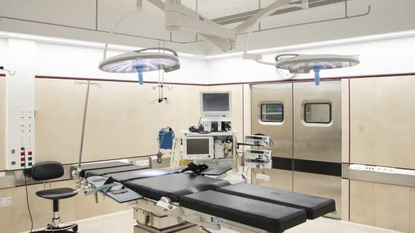 Reanudación de la actividad en el bloque quirúrgico del CHN tras las obras.