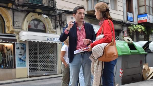 Casares en la calle Cervantes