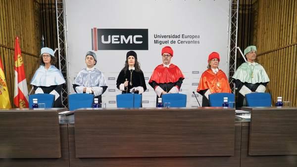 Apertura del curso en la UEMC