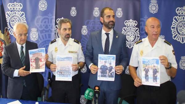 Presentación de los actos centrales del Día de la Policía