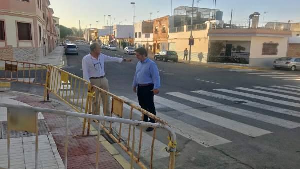 Visita para la mejora de la seguridad viaria en la ciudad de Alcalá.