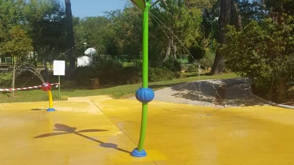 La Ciudad de los Niños y las Niñas estrena juego de agua