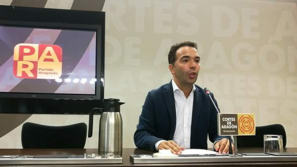El diputado del PAR Jesús Guerrero.