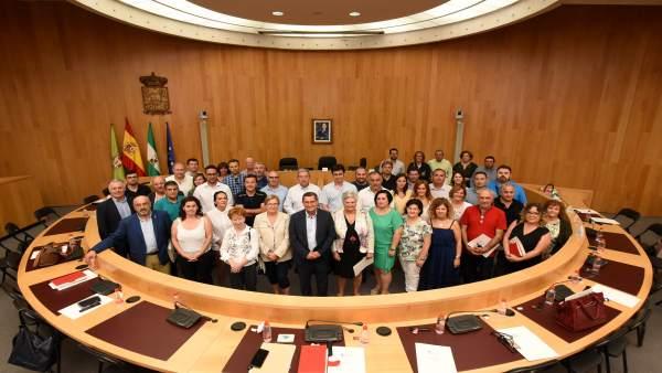 Reunión de Diputación y ayuntamientos sobre el ciclo integral del agua