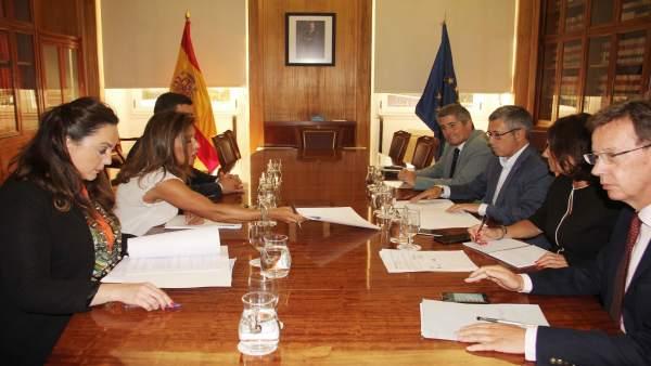 Reunión Xunta y Gobierno estatal