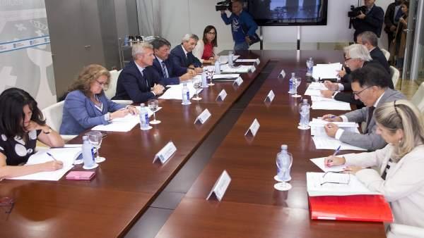 Comision mixta entre la Xunta y el Tribunal Superior de Xustiza
