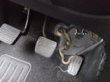 La serpiente se encontraba en los pedales de la conductora.
