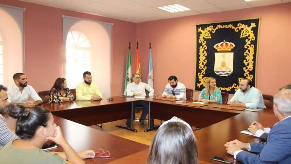 La alcaldesa de Alcalá se reúne con la Asociación de Hosteleros